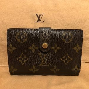Authentic LV Monogram French Purse Wallet